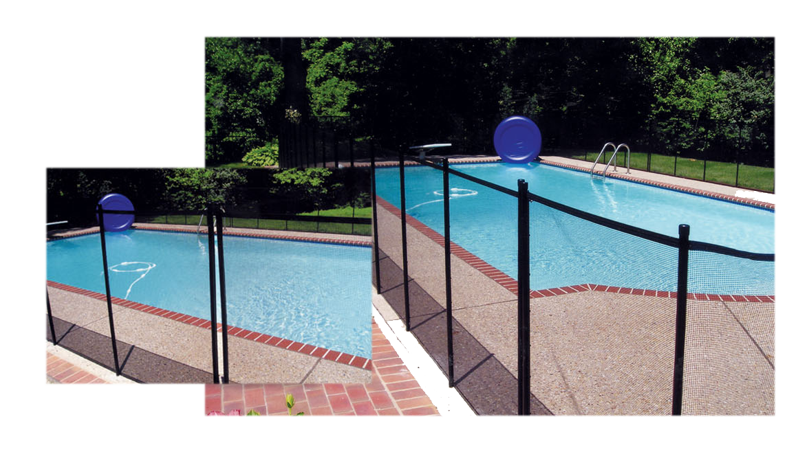 Pool safety fence childproofers